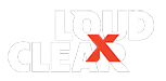 LOUD X CLEAR Logo